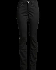 Niki Twill Jeans Black