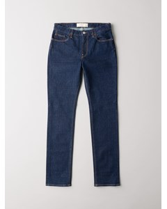 High Waisted 5-pocket Blue Rinse