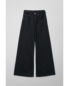 Beat High Wide Jeans Black