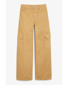 Yoko Pocket Jeans Sandy Beige