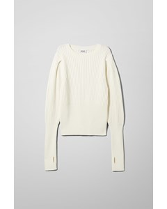 Anabel Sweater White