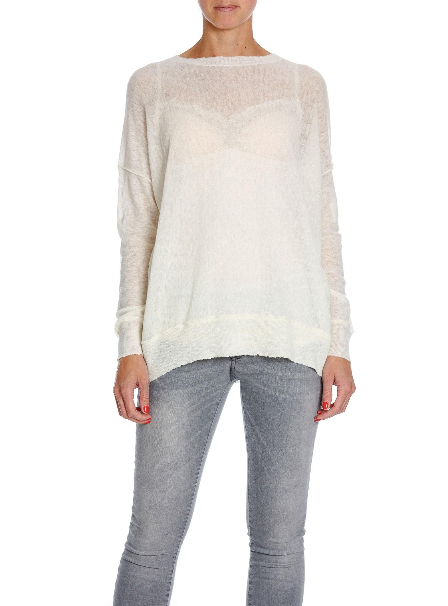 4da61d797df By Malene Birger Sweater Biagio Soft White | Shoppa Online | Afound