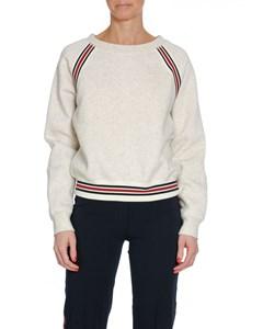 Hunkydory Sweatshirt Main I Delta Fleece Off White Melange