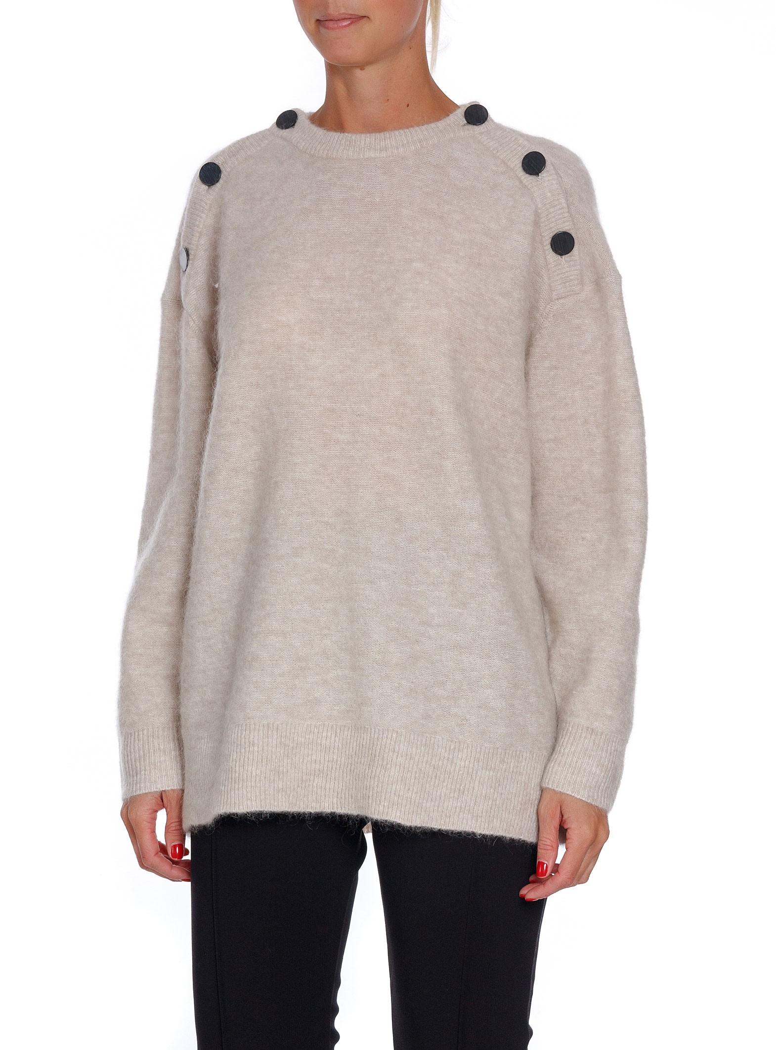 4a6cf49abac By Malene Birger Sweater Lamma Beige Melange | Shoppa Online | Afound