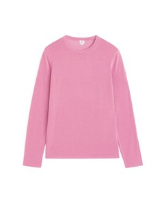 Fine-knit Jumper Pink