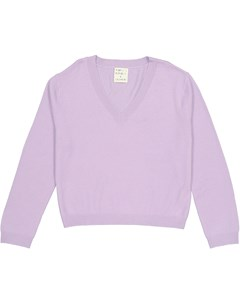 Women's V-neck Lilac