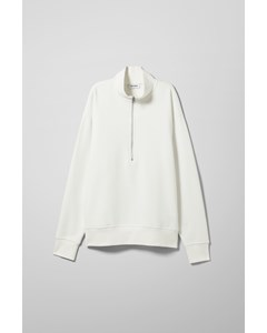 Jive Half Zip Sweatshirt White