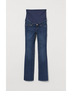 Mama Mini Flare Jeans Mörk Denimblå