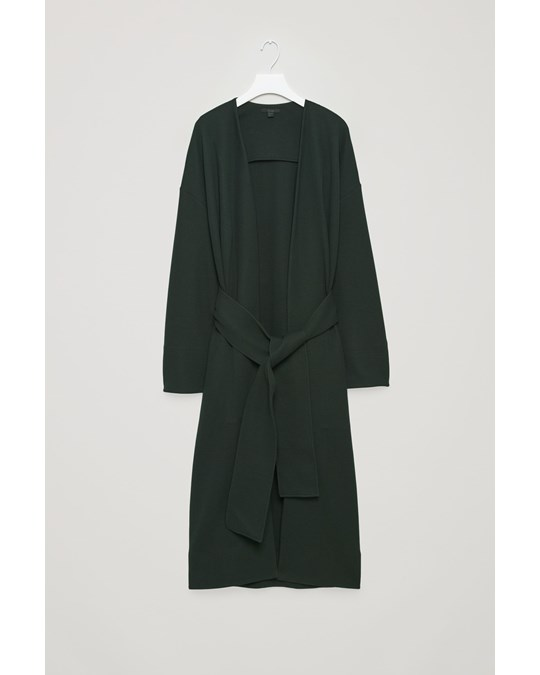 COS Long Jacket Green