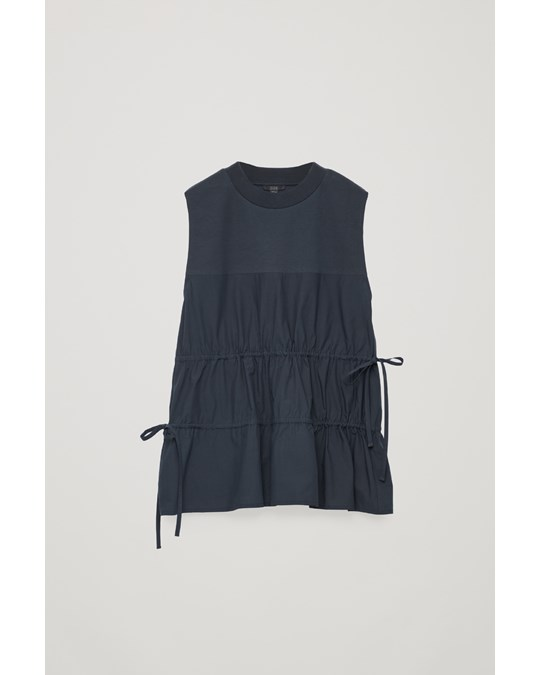 COS Sleeveless Top Blue