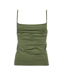 Strap Mini Top Khaki Khaki