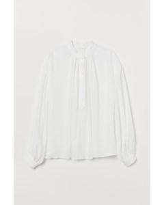 Porto Vecchio Blouse White