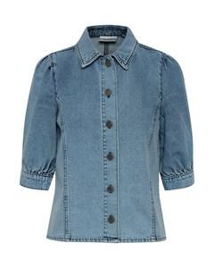 Piettagz Shirt Ze2 19 Sky Blue