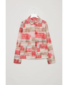 Ca Gravia Printed Shirt Pink