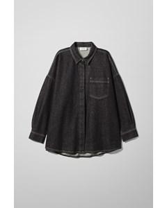 Arc Denim Shirt Black