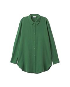Oversize Shirt Green