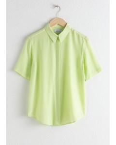 Rosie Shirt met korte mouwen Groen