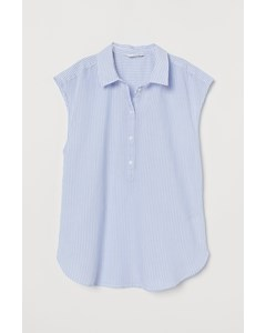 Harry Sleeveless Top Blue