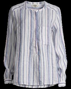 Bella Shirt Navy Stripe