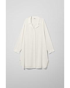 Logan Long Shirt White