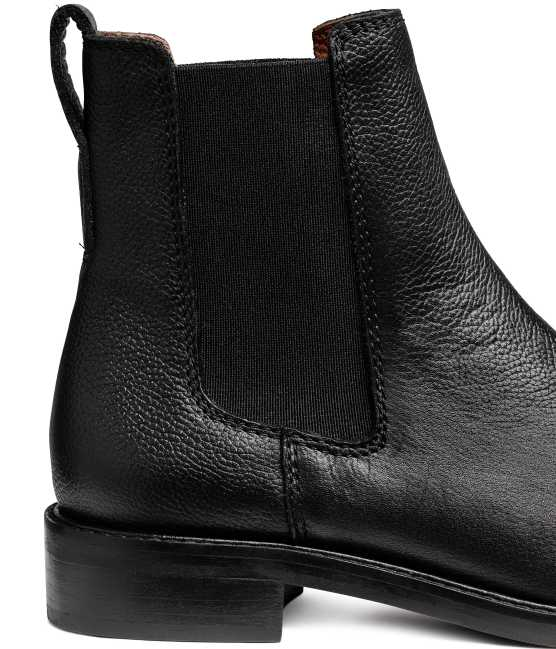 Leather Chelsea Boots Black | Upp till 70% |