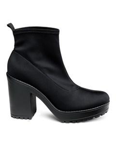 Brenda Sock Boot Black