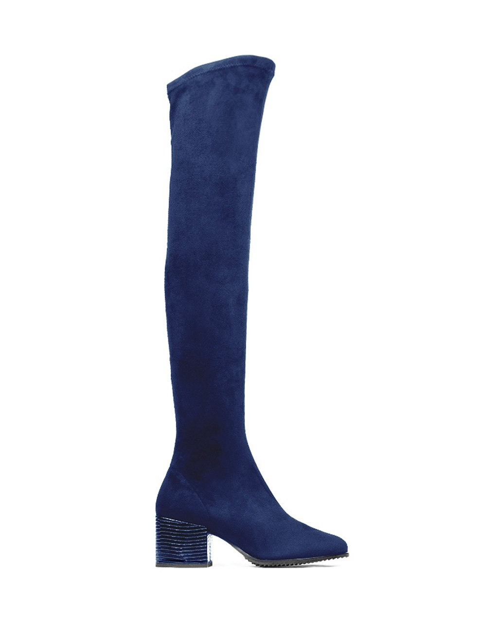 Cuple Leather High Boots Blue | Upp till 70% |