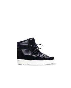 Moon Boot Pulse Satin Winter Boots Black