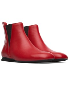 Casi Myra Ankle Boots Red