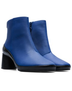 Upright Ankle Boots Blue
