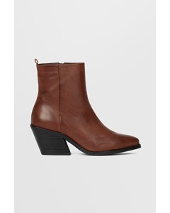 Biacuba Leather Western Wf  Cognac