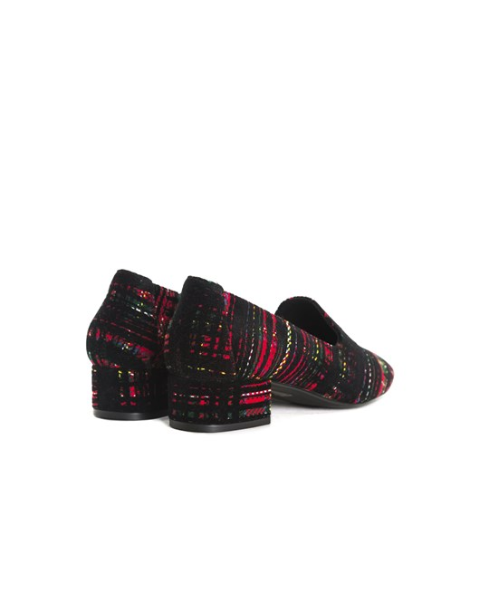 L'intervalle Daria Green/red/black Fabric Shoes