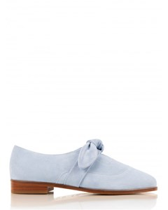 La Chouchoute Suede Leather Derbies