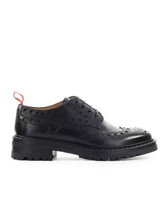 Barracuda Black Derby Lace-up Shoe