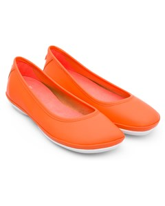 Right Ballerinas Orange