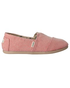 Canvas Espadrilles Classic Panama Red Passion 034