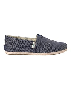 Canvas Espadrilles With Rope Detail Classic Day & Sparks Navy 034
