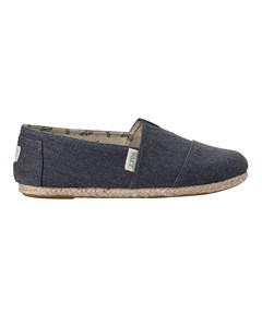 Canvas Espadrilles With Rope Detail Classic Essential Sea 034