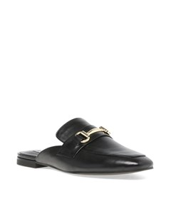Kori Mule A Black Leather