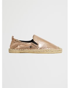 Liora Espadrille Rose Gold Crackle