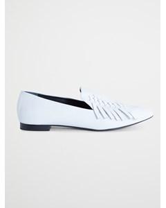 Belgium Loafer Fringed White