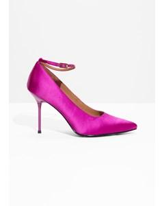 P Cramaille Pumps rosa