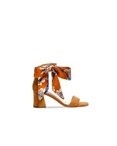 Apair Sandalettes Classic Low Ribbon Tan