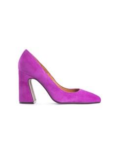 Thalia Pink Suede Pumps