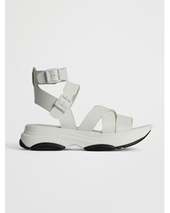 Biaalia Chunky Strap Sandal White