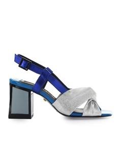 Kat Maconie Siver Blue Ada Sandal