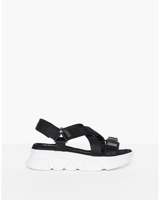 NLY by Nelly Perfect Chunky Sandal White/black