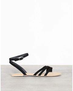 Tripple Toe Strap Sandal Black