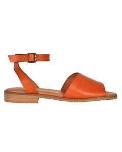 Agnes Leather Sandals