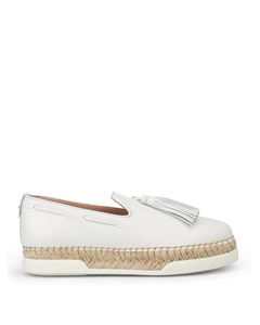Tod's Women's Leather Slip On Sneakers